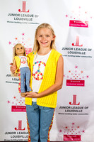 Jr League - American Girl fashion show, dress rehearsal